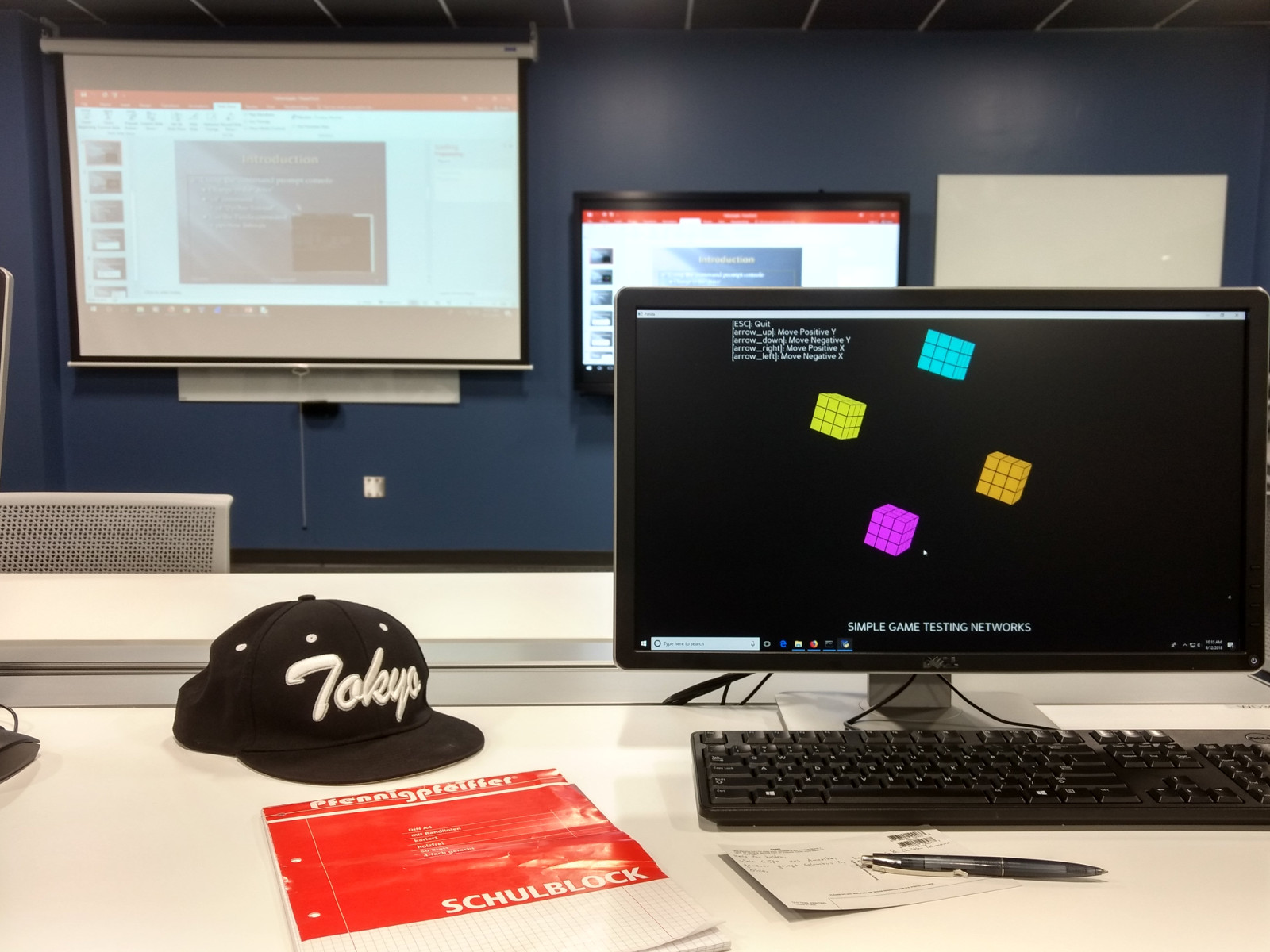 A game development course at the Columbus State Community College