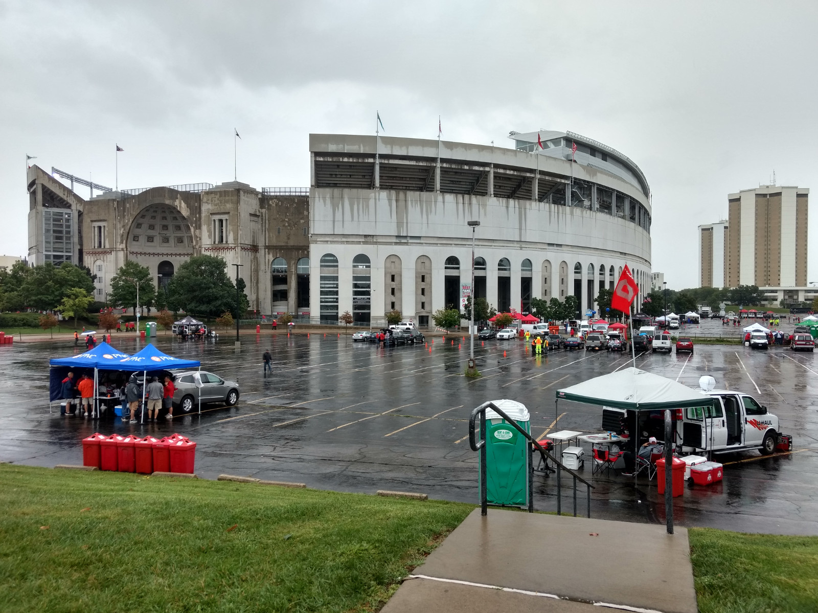 The Ohio stadium in Columbus