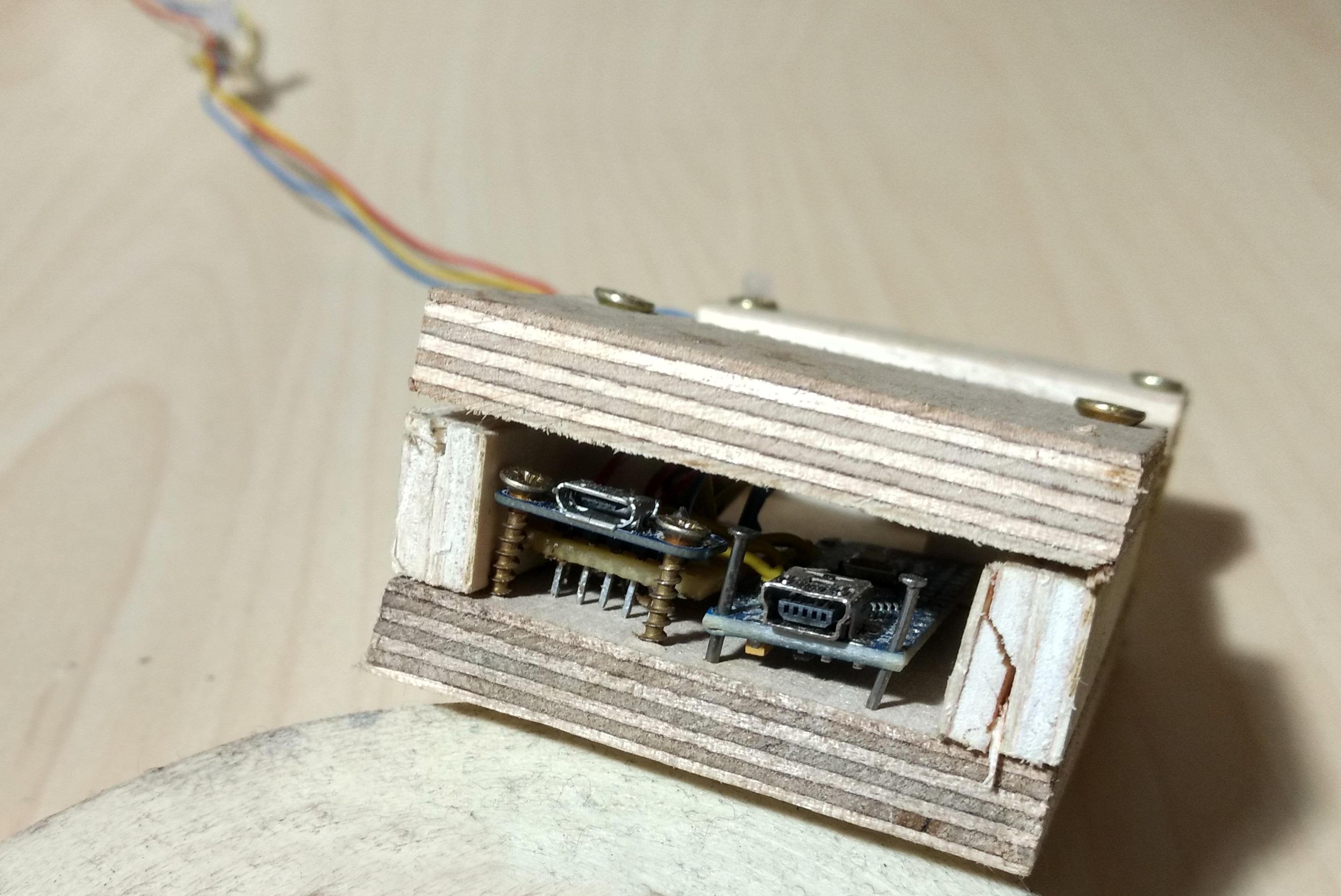 Arduino mit zusätzlichem Micro Usb Port